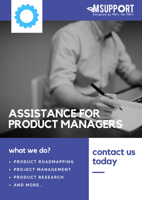 ASSISTANCE-FOR PRODUCT-MANAGERS